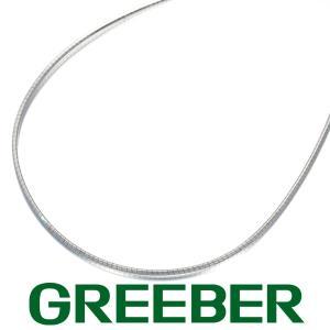 オメガチェーン ネックレス 40cm K18WG GENJ greeber01