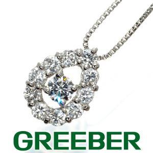 ダイヤ ダイヤモンド 0.33ct ネックレス Pt900/Pt850/プラチナ GENJ greeber01