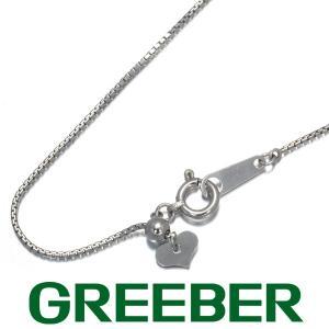 ベネチアンチェーン ネックレス 45cm K18WG GENJ greeber01