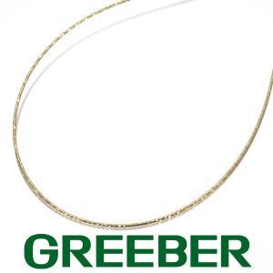 オメガチェーン ネックレス 45cm K18YG GENJ greeber01