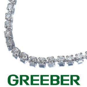 ダイヤ ダイヤモンド 1.00ct テニス ブレスレット Pt900/プラチナ GENJ|greeber01