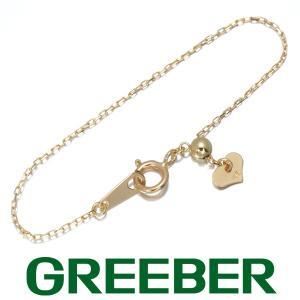 アジャスター チェーン ネックレス 10cm K18YG GENJ|greeber01