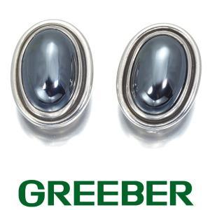 ジョージジェンセン イヤリング ヘマタイト 86B SV925 BLJ|greeber01
