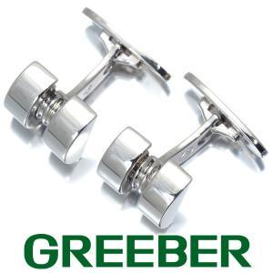 ジョージジェンセン カフスボタン カフリンクス 67 SV925 BLJ|greeber01