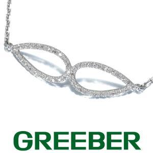 トウス ブレスレット ダイヤ ダイヤモンド 雫デザイン K18WG BLJ/GENJ|greeber01