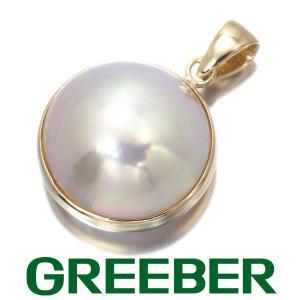 マベパール ペンダントトップ K18YG GENJ|greeber01