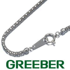 ボンバータチェーン ネックレス K18WG GENJ greeber01