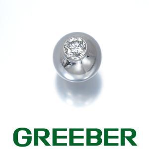 カルティエ ピアス ダイヤ ダイヤモンド ペルルドディアマン 片耳 K18WG BLJ 特別値下げ品|greeber01