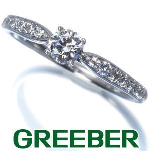 ティファニー リング 指輪 ダイヤ ダイヤモンド 0.23ct E VS2 EX ハーモニー 12号 Pt950/プラチナ 鑑定書 BLJ 大幅値下げ品|greeber01