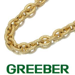 チェーン ネックレス K18YG 59cm GENJ greeber01