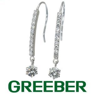 ダイヤ ダイヤモンド 0.30ct/0.30ct ピアス Pt900/プラチナ GENJ 大幅値下げ品|greeber01