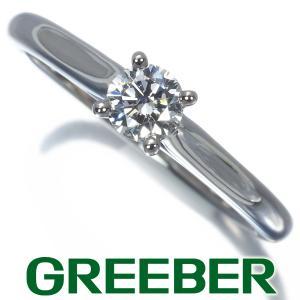 カルティエ リング 指輪 ダイヤ ダイヤモンド 0.19ct ソリテール 46号 Pt950/プラチナ BLJ|greeber01