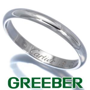 カルティエ リング 指輪 クラシックウェディング 49号 Pt950/プラチナ BLJ 大幅値下げ品|greeber01