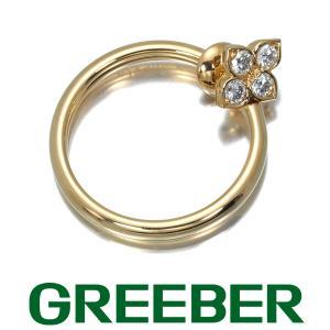 カルティエ イヤリング ダイヤ ダイヤモンド ヒンドゥ フープ 片耳 K18YG BLJ|greeber01