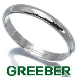 カルティエ リング 指輪 クラシックウェディング 50号 Pt950/プラチナ BLJ|greeber01