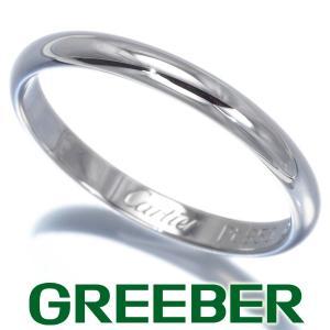 カルティエ リング 指輪 クラシックウェディング 50号 Pt950/プラチナ BLJ 大幅値下げ品|greeber01