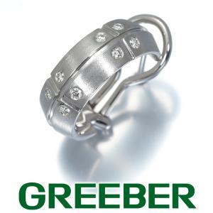 ティファニー ピアス ダイヤ ダイヤモンド ストリーメリカ 片耳 K18WG BLJ|greeber01