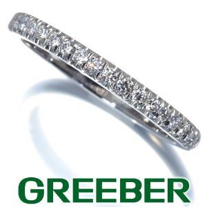 ティファニー リング 指輪 ダイヤ ダイヤモンド ソレスト ハーフエタニティ 10号 Pt950/プラチナ BLJ 大幅値下げ品|greeber01