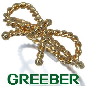 ティファニー リング 指輪 リボン ツイスト 9号 K18YG BLJ 大幅値下げ品|greeber01