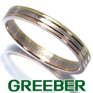 カルティエ リング 指輪 スリーカラー 65号 K18YG/WG/PG BLJ|greeber01