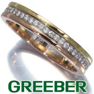 カルティエ リング 指輪 ダイヤ ダイヤモンド スリーカラー フルエタニティ 51号 K18YG/WG/PG BLJ|greeber01