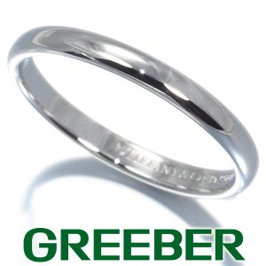 ティファニー リング 指輪 ウェディング 6号 Pt950/プラチナ BLJ|greeber01