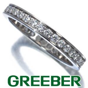 カルティエ リング 指輪 ダイヤ ダイヤモンド バレリーナ フルエタニティ 46号 Pt950/プラチナ 保証書 BLJ|greeber01