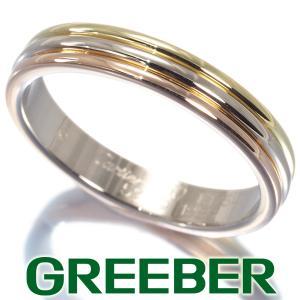 カルティエ リング 指輪 スリーカラー 59号 K18YG/WG/PG BLJ|greeber01