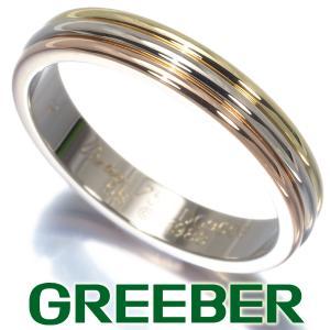 カルティエ リング 指輪 スリーカラー 58号 K18YG/WG/PG BLJ|greeber01