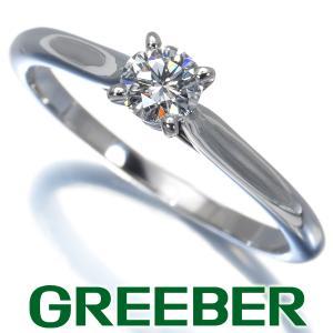 カルティエ リング 指輪 ダイヤ ダイヤモンド 0.23ct ソリテール 51号 Pt950/プラチナ BLJ|greeber01