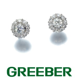4℃ ピアス ダイヤ ダイヤモンド シンプルデザイン Pt900/プラチナ BLJ|greeber01
