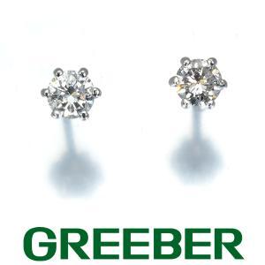 一粒 ダイヤ ダイヤモンド 0.15ct/0.15ct ピアス Pt900/プラチナ GENJ|greeber01
