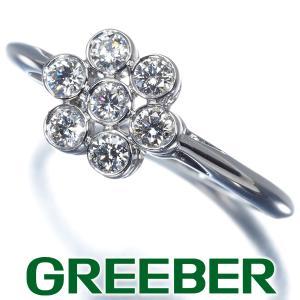 ティファニー リング 指輪 ダイヤ ダイヤモンド ガーデンフラワー 11号 Pt950/プラチナ BLJ|greeber01