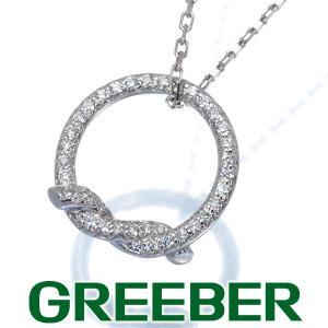 カルティエ ネックレス ダイヤ ダイヤモンド アントルラセ K18WG BLJ|greeber01
