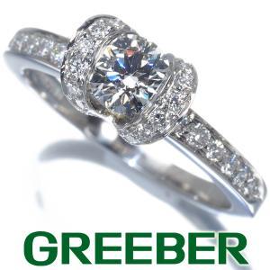 ティファニー リング 指輪 ダイヤ ダイヤモンド 0.5ct程 リボン 11.5号Pt950/プラチナ BLJ|greeber01