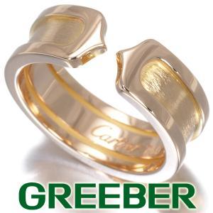 カルティエ リング 指輪 C2 2C ドゥーブルC 50号 K18YG BLJ|greeber01