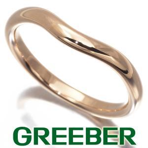 ティファニー リング 指輪 カーブドバンド 8.5号 K18PG BLJ|greeber01