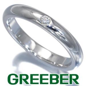 ティファニー リング 指輪 ダイヤ ダイヤモンド スタッキングバンド 6.5号 Pt950/プラチナ BLJ|greeber01