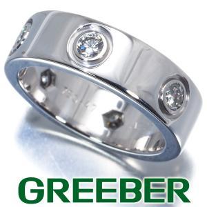 カルティエ リング 指輪 ダイヤ ダイヤモンド ラブ フル 47号 K18WG BLJ|greeber01