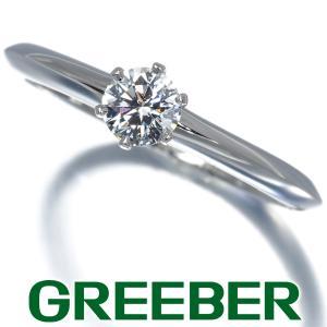 ティファニー リング 指輪 ダイヤ ダイヤモンド 0.26ct ソリティア 10.5号 Pt950/プラチナ BLJ|greeber01