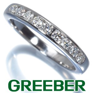 ティファニー リング 指輪 ダイヤ ダイヤモンド チャネルセッティングバンド 3.0mm 10号 Pt950/プラチナ BLJ|greeber01