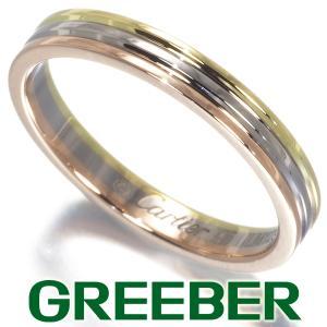 カルティエ リング 指輪 スリーカラー 45号 K18YG/WG/PG BLJ|greeber01