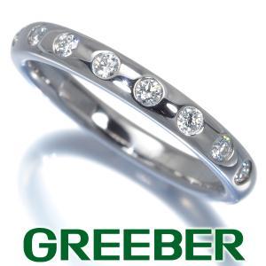 ティファニー リング 指輪 ダイヤ ダイヤモンド 8P ビゼット 10号 Pt950/プラチナ BLJ|greeber01