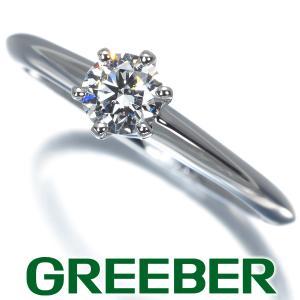 ティファニー リング 指輪 ダイヤ ダイヤモンド 0.36ct ソリティア 11.5号 Pt950/プラチナ BLJ|greeber01