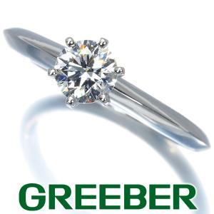 ティファニー リング 指輪 ダイヤ ダイヤモンド 0.46ct ソリティア 10号 Pt950/プラチナ BLJ|greeber01