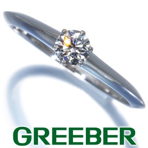 ティファニー リング 指輪 ダイヤ ダイヤモンド 0.22ct ソリティア 11号 Pt950/プラチナ BLJ|greeber01