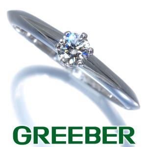 ティファニー リング 指輪 ダイヤ ダイヤモンド 0.18ct ソリティア 10号 Pt950/プラチナ BLJ|greeber01