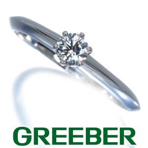 ティファニー リング 指輪 ダイヤ ダイヤモンド 0.21ct ソリティア 12号 Pt950/プラチナ BLJ|greeber01