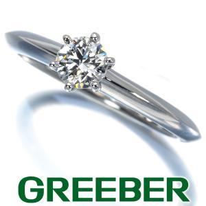 ティファニー リング 指輪 ダイヤ ダイヤモンド 0.31ct ソリティア 9号 Pt950/プラチナ BLJ|greeber01