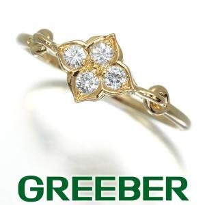 カルティエ リング 指輪 ダイヤ ダイヤモンド ヒンドゥ 48号 K18YG BLJ|greeber01